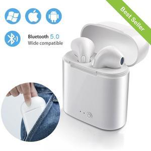 i7S TWS , I7 twis Mini Wireless Bluetooth Earbuds , Headset Bluetooth Headphones, Hands Free , Headphone , Bluetooth Handfree