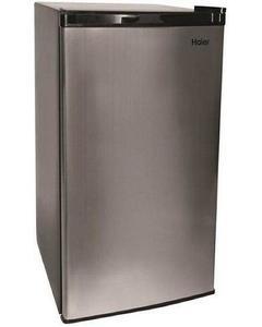Mini fridge HR-126BL - Black Stainless