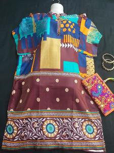 Check Style Printed Kurti For Ladies - Summer Kurtis Collection 2019