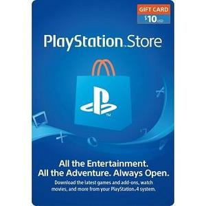 Sony $10 Playstation Gift Card  US Region