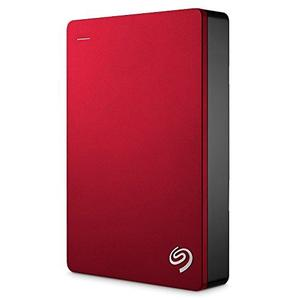 Seagate Backup Plus 5TB Portable External Hard Drive - Red