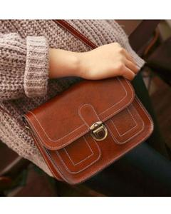 Hand Bag For Women - Brown