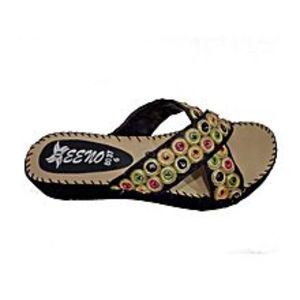 Eleze Multi-Color Synthetic Fancy Slipper for Women - Art # -8037