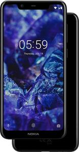 "Nokia 5.1 Plus Nokia X5 Display 5.8"" HD -Back 13 MP,Front 8 MP- 3GB/32 GB-Black Color"