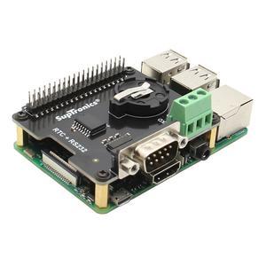 MOJOYCE - Raspberry Pi X230 RS232 Seria Port Real-time Clock RTC Expansion Board