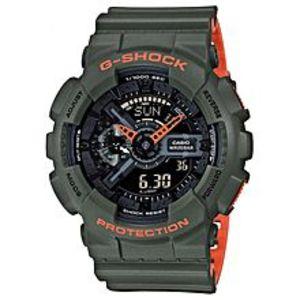 Casio - G ShockGreen Resin Chronographic Watch for Men - GA-110LN-3ADR