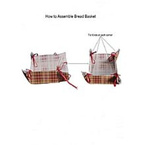 Hoor Home CollectionSquare shape foldable Roti/bread/Snaks/cookies basket