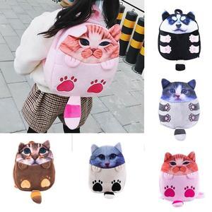 Kids Cartoon Cat Backpack Kindergarten Children Cute School Bag Baby Schoolbag