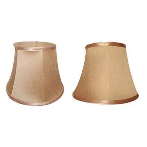 Skin Colour Lamp Shades x2