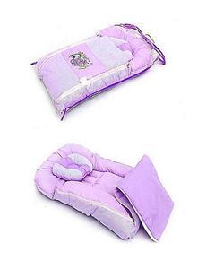 Baby Sleeping Bag - 2Pcs - Purple