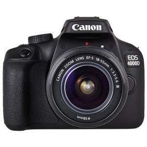 CANON EOS 4000D - 18.0 MP - Black