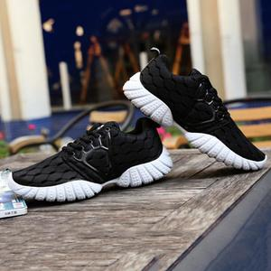 Comfortable Men Mesh Fabric Sport Shoes Breathable Running Walking Sneakers