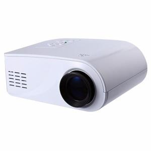 Portable 480 x 320 Pixels 80LMS LCD Projector Home Cinema with HDMI USB AV VGA SD Interface EU