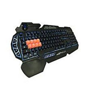 Bloody B318 8-Key Light Strike Mechanical Gaming Keyboard - Black (Brand Warranty)