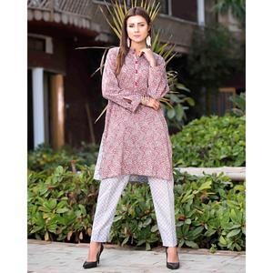 SITARA STUDIO Sapna Collection 2019 Multicolor Lawn 2PC Unstitched Suit For Women - 6105 C