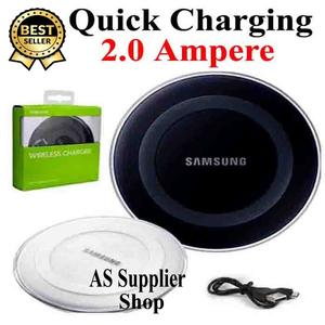 Imported Samsung Wireless Charger 2.0 Ampere Qi Universal Wireless Charger Supported Samsung Galaxy Note LG Iphone Huawei Oppo Android Mobile Wireless Charger
