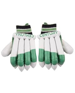 Cricket Batting Gloves For Hard Ball Cricket With Thumb Protection - Green