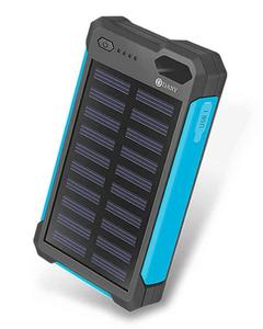 Solar Power Bank 8000mAh, Black