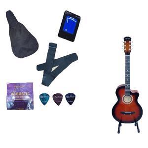 R 38 - Acoustic Guitar - With Accessories - Sunburst