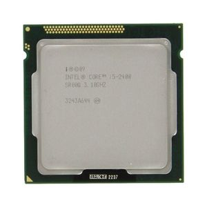 Intel Core i5-2400 Quad-Core Processor 3.1 GHz - 6 MB Cache - LGA 1155