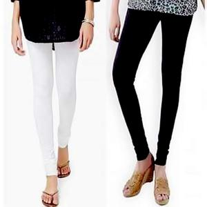 T Shirts & Tops Summer Collection 2019 Pack of 2 Black & White Tights For Women