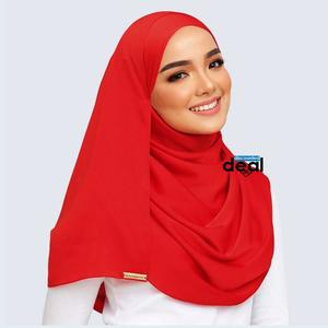 fashion all season women scarf thin shawls and wraps lady solid female hijab stoles long cashmere pashmina foulard head scarves red Plain Cotton Silk  Mix Stole Scarf For Women girls length 2.15 meter