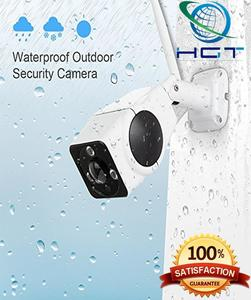 VR Panoramic 2 MP Full HD Weatherproof Outdoor Mobile Phone Remote Monitoring IP Camera (QTY-3) (A)