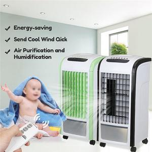 【Free Shipping + Flash Deal 】60W Portable Fan Conditioner Air Cooler Humidifier Cooling Remote Conditioning NEW