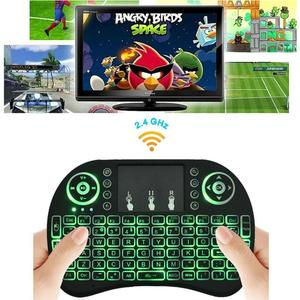 RF-500 2.4GHz Most Mini Wireless Keyboard Mouse Combo 3.3V Built-In Rechargeable Lithium Battery For Tv Box Laptop