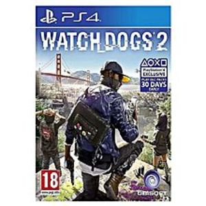 UbisoftPlay Station 4 Watch Dogs 2