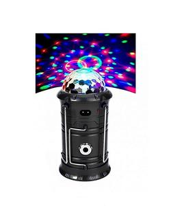 Hope Solar Rechargeable Camping Lantern with Torch Light - Multicolor