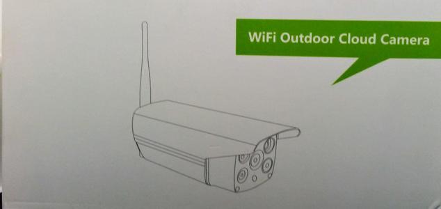 Wifi data Sim outdoor Cloud Camera