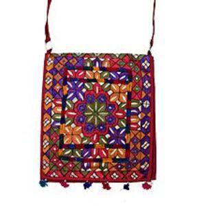 MerkaKraftMulticolor Cotton Hand Made Hand Bag for Women