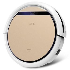 iShow Plus ILIFE V5S Pro Intelligent Robotic Vacuum Cleaner Cordless Dry Wet Sweeping Cleaning Machine - Champagne Gold
