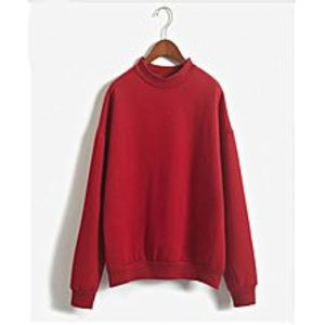 Abdul Collection Ab Autumn Winter Pullover Loose Fleece Sweat-Shirt