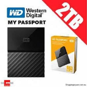 WD 2TB PORTABLE EXTERNAL HARD DRIVE 3.O  (WESTERN DIGITAL)