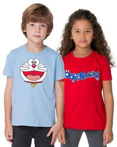 Pack of 2 Doramon T-Shirts For Kids