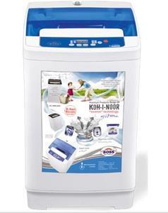 K.E-AW-8200-W - Automatic Washing Machine - Black