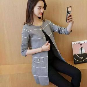 Grey Lining Style Black Fleece Coat RBS-519
