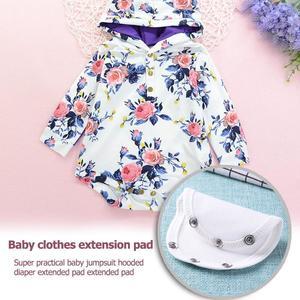 Cute Baby Romper Extend Pad Kids Boys Girls Jumpsuit Lengthen Diaper Mat