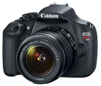 Canon EOS Rebel T5 18-55 IS II Kit DSLR Camera