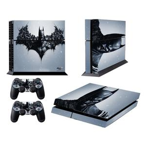 Batman Pattern Fashion Color Protective Film Sticker for Sony PS4
