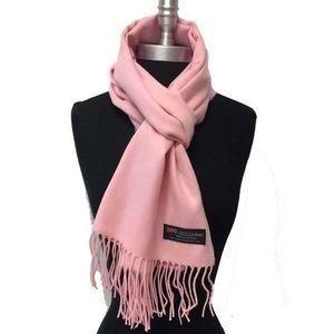 Light Pink Wool Muffler For Men