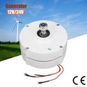 200W PMSG Brushless Generator 12V/24V 600 R/Min White