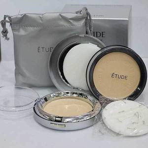 Etude Twin Cake Face Powder Foundation Base With Refill