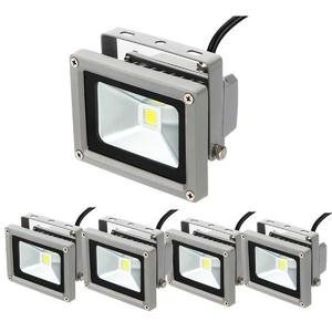 4Pcs 10w High Power LED Outdoor Flood Wash Light Lamp DC12V Pure White