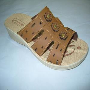 Sand Brown Rexiene Sandal For Women