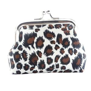 Woman's wallet Bag Women Lady Retro Vintage Leopard Small Wallet Hasp Purse Clutch Bag 1