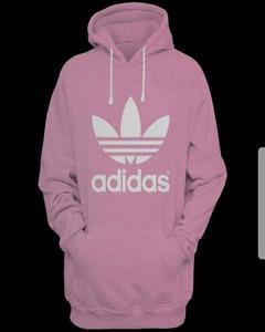 Pink Printed Hoodie For Her
