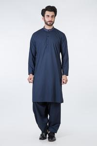 Bonanza Satrangi DARK BLUE Color Kameez Shalwar For Man